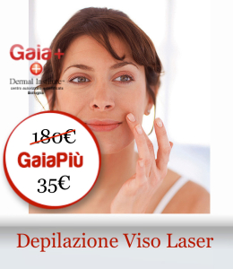 depilazione viso laser